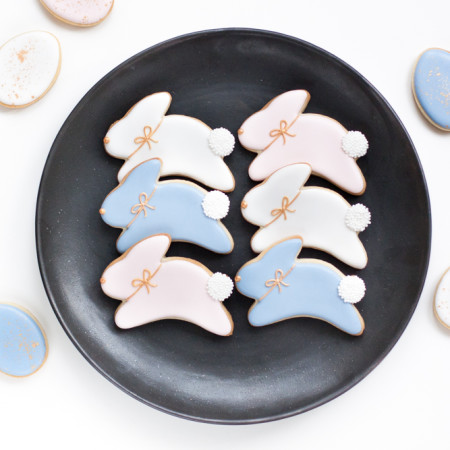 Slow Living: Pantone Inspired Easter Cookies with Hello Baked